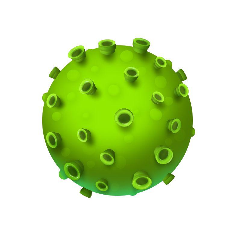 绘图微课堂: 教你用PS画3D立体病毒模型丨附下载
