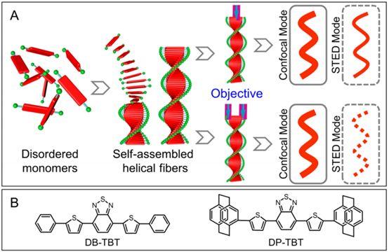 唐本忠ACS Nano:使用聚集诱导发光探针实现自组装螺旋纤维的超高分辨率成像