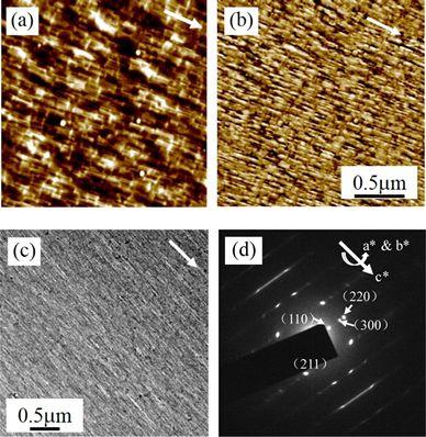 【IR+AFM+TEM】在聚合物外延重结晶上的经典应用Macromolecules