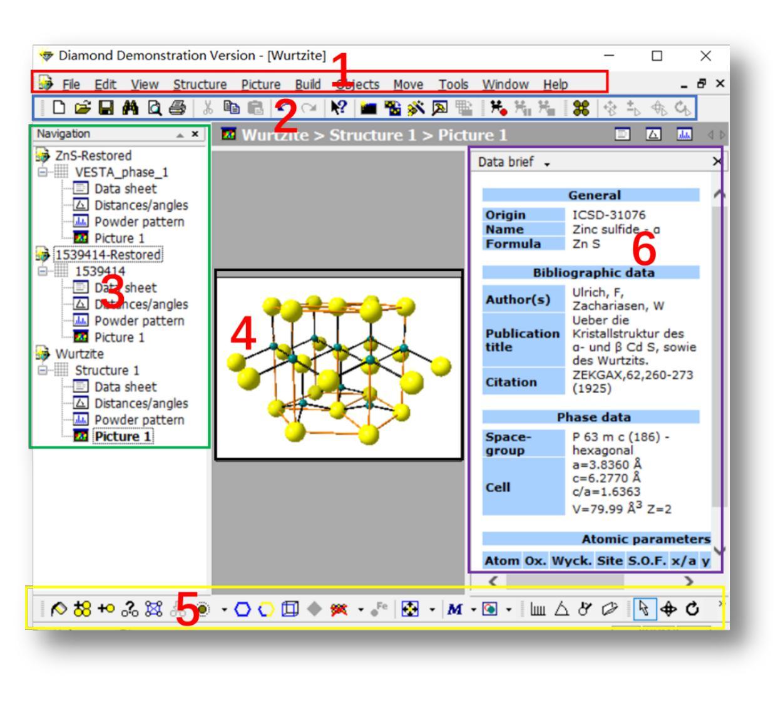 图3Diamond软件操作界面