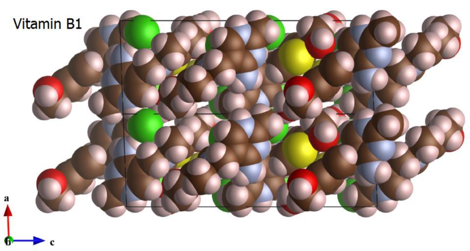 图3采用VESTA绘制出的晶体结构示意图