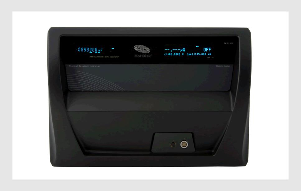 Hotdisk热常数分析仪的基本原理和应用